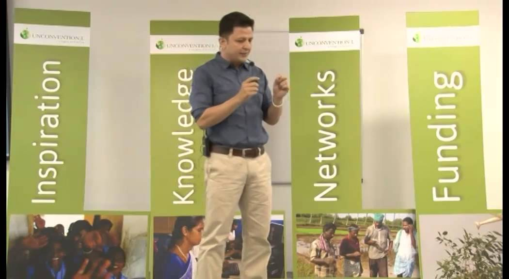 Ajay Chaturvedi, Founder of HarVa, a rural startup that focuses on skills development, BPO training,
